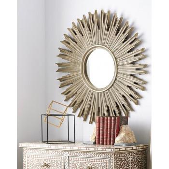 """Зеркало солнце """"Эллисон"""" Серебро"""