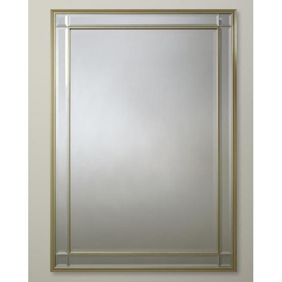 """Зеркало настенное в прямоугольной раме """"Дорсет"""" Серебро в интернет-магазине ROSESTAR фото"""