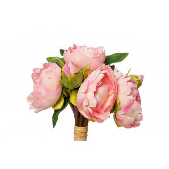 Букет розовых пионов 30см 9F27800PN-4183