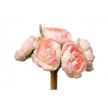 Букет розовых лютиков 30см 9F27870PF-4069