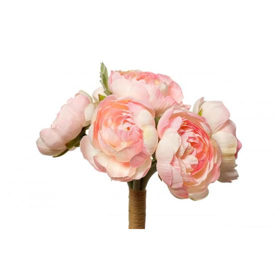 Букет розовых лютиков 30см 9F27870PF-4069 в интернет-магазине ROSESTAR фото