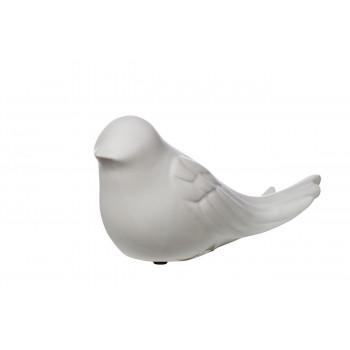 Статуэтка Птичка белая 10,5*7,5*21,5 10K8856-SM