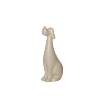 Статуэтка Собака бежевая 20,5*7*8 10K8843B