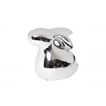 Статуэтка Заяц серебряная 13*8,5*12,5 10K9084