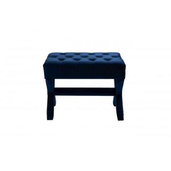 Банкетка для спальни синяя Neil cc-67