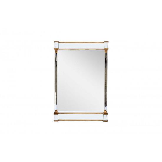 Зеркало в деревянной золотой раме 1200*800*44 KFH1872E7  в интернет-магазине ROSESTAR фото