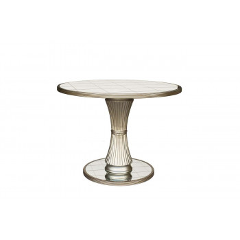 Зеркальный обеденный стол 1050*1050*783 KFC951