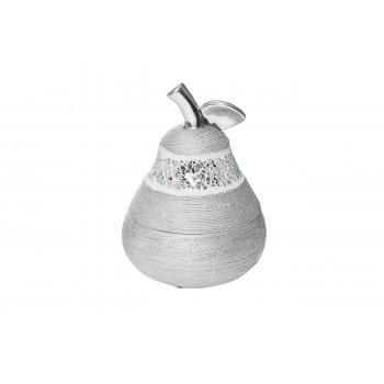 Серебряная шкатулка для украшений Груша 12,7*12,5*18 18H7578M-1
