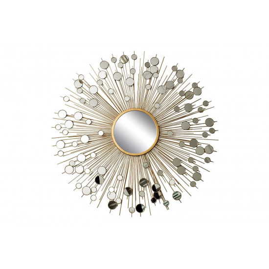 Зеркало солнце диам.100,центр.диам.25 19-OA-5702 в интернет-магазине ROSESTAR фото