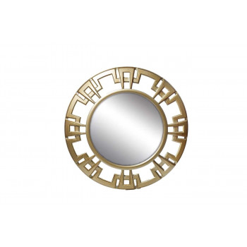 Круглое декоративное зеркало 40,6*40,6*4 M835