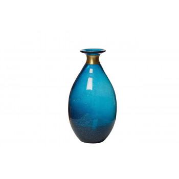 Стеклянная синяя аза 16*30 KL1630-Q