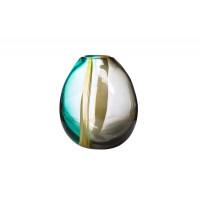 Стеклянная цветная ваза H22xD21x12 HJ4127-22-N95
