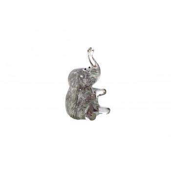 Статуэтка Слон серый 8,5х6,5х12  F6544