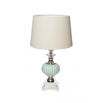 Настольная лампа с бежевым абажуром 22-86946