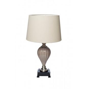 Настольная лампа с бежевым абажуром 22-86892