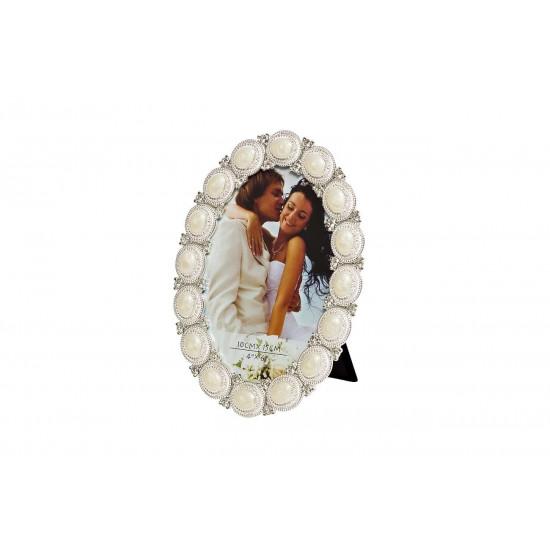 Овальная фоторамка 14,5*1,5*20 PF11833 в интернет-магазине ROSESTAR фото