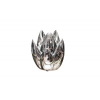 Керамический серебряный подсвечник 11*11*14.5 10K8152C