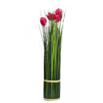 Букет розовых тюльпанов 45см 8J-15AK0032
