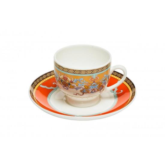 Чашка кофейная 100мл с блюдцем (6) 26FC TIFFANY CUP/S 100R в интернет-магазине ROSESTAR фото