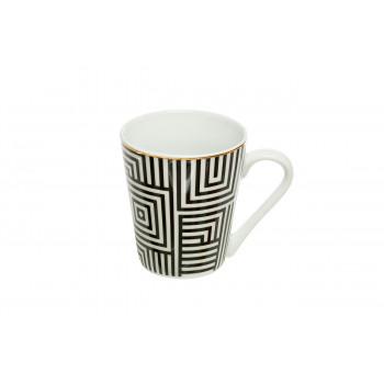 Кружка черно-белая 26FC VANITY CUP300BL