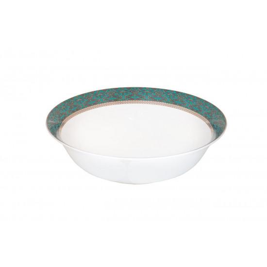 Салатник 23см, цвет бирюзовый (4) 25WIN RIVIERA BOWL23 в интернет-магазине ROSESTAR фото