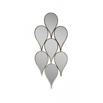 Декоративное зеркало «Капли» 43х5х100 см 19-OA-5660