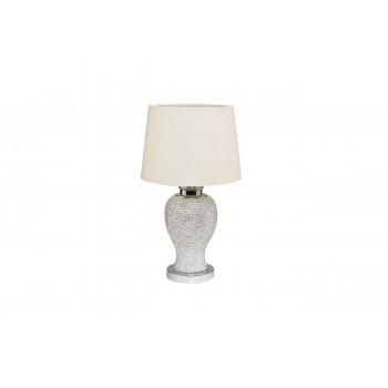 Настольная лампа с бежевым абажуром 22-86482