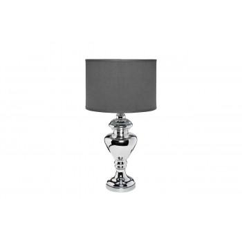 Настольная лампа с серым абажуром 22-8759