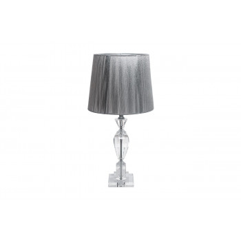 Настольная лампа серебряная  X181617