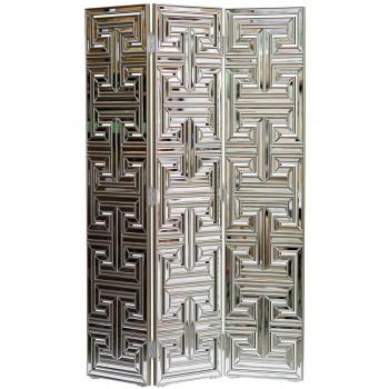 Зеркальная напольная ширма 3 полотна 1191х25х1780 арт. KFC600