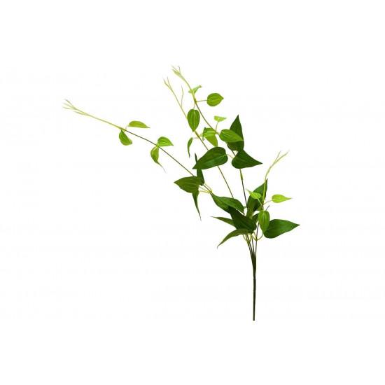 Веточка с листьями 80 см 9F28340N-5183GR в интернет-магазине ROSESTAR фото