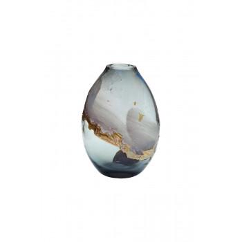 Стеклянная цветная ваза H28D13 HJ1459-28-Q87