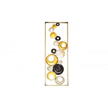 Декоративное панно Круги 31,1*89,5*3,8см 37SM-0716-A