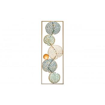 Декоративное панно Листья 31,1*89,5*4,4см 37SM-0717-A