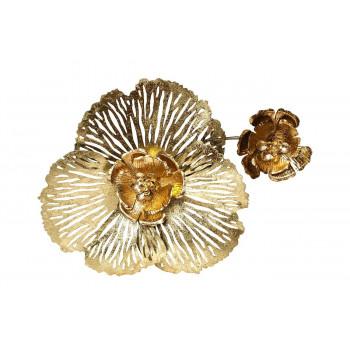 Настенный декор Цветы 45,7*57,2*6,4см 37SM-0851-A