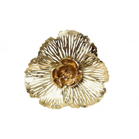 Настенный декор Цветок 45,7*43,8*7,6см 37SM-0852-A  в интернет-магазине ROSESTAR фото