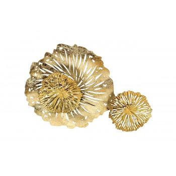 Настенный декор Цветы 55,9*38,7*7,6см 37SM-1850
