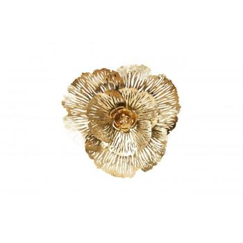 Настенный декор Цветок 74,3*71,1*11,4см 37SM-0503