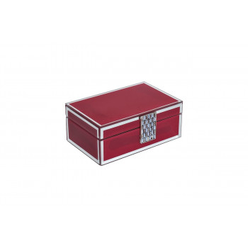 Красная шкатулка 21*8,5*13,5 см GD-7766