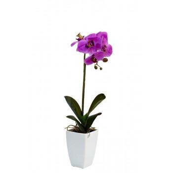 Орхидея сиреневая в горшке, 52 см 29BJ-JF207