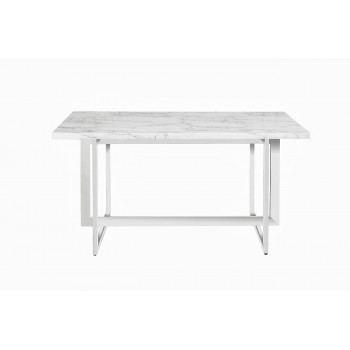 Стол обеденный белый 150*90*75см 30F-987W5501-3
