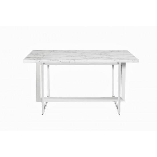 Стол обеденный белый 150*90*75см 30F-987W5501-3 в интернет-магазине ROSESTAR фото