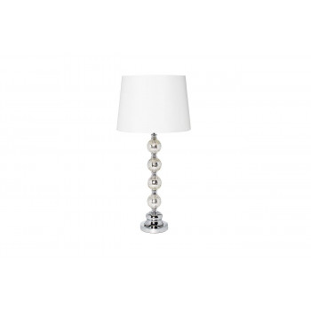 Белая настольная лампа 22-86642