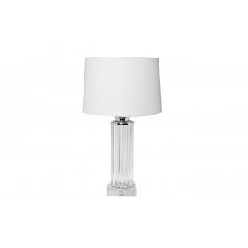 Белая настольная лампа 22-87529