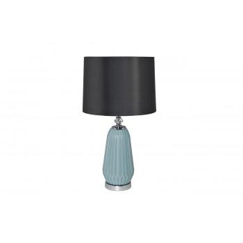 Настольная лампа с серым абажуром 22-87819