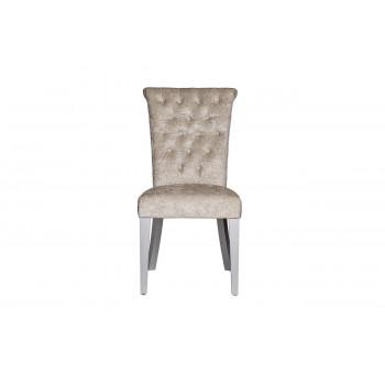 Бархатный стул с кольцом бежевый 47*52*98см DY-409J-81136-26
