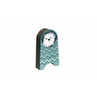 Часы настольные голубые 21х12 см 19-OA-450-CK