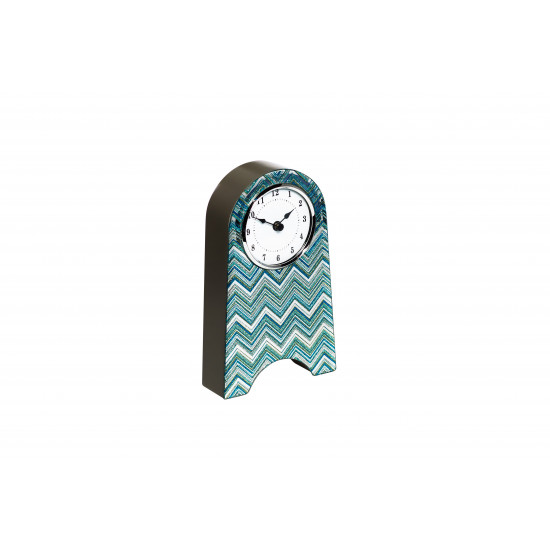 Часы настольные голубые 21х12 см 19-OA-450-CK в интернет-магазине ROSESTAR фото
