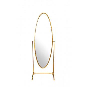 Зеркало напольное овальное в рост 65*152*10см 19-OA-6007