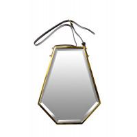 Зеркало на подвесе в золотой раме 40*55*5,3см арт. 19-OA-6044